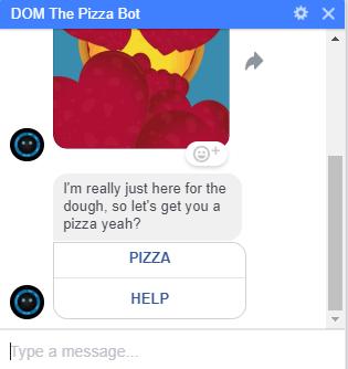 dominos pizza bot