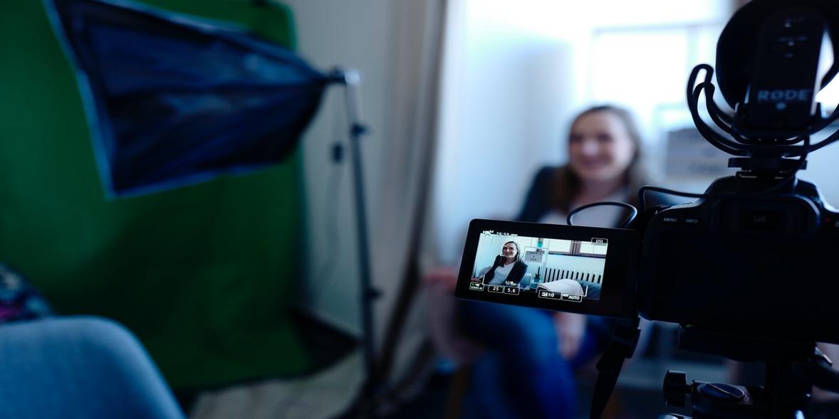 social media with video testimonials