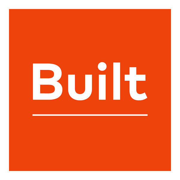 built by blank