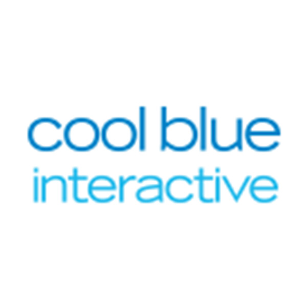 cool blue interactive